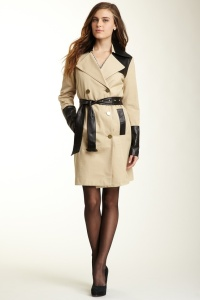 Cynthia Steffe London Color Block Trench