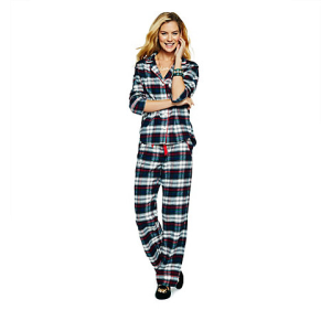 C. Wonder Plaid Pajama Set