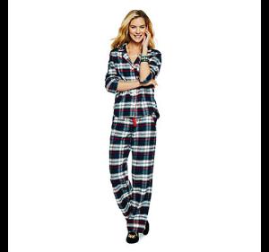 C. Wonder Plaid Pajama Set