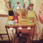 Veuve, Titos and POP are among the essentials...