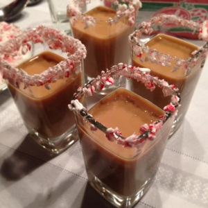 Godiva Chocolate Peppermint Shots