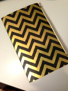 Chevron Journal from Paper Source