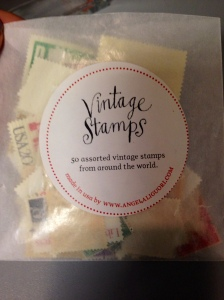 Anthropologie VIntage Stamps