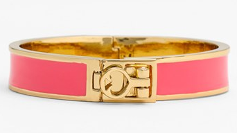 "kate spade ""bows & spades"" bangle"